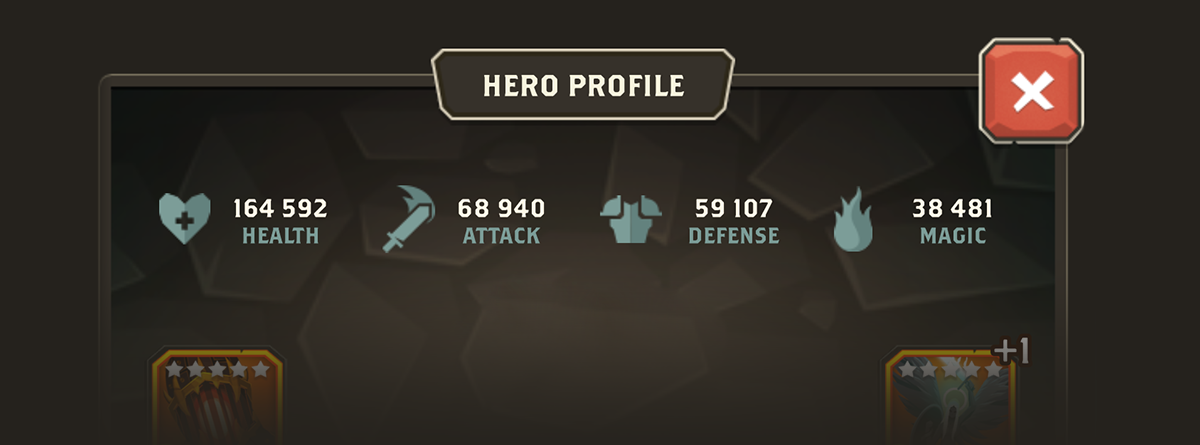 Your Hero's Stats