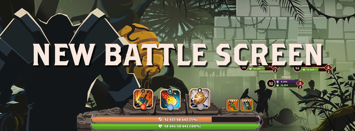 Get To Know Your New Battle Screen!