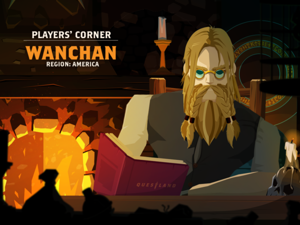PLAYER'S CORNER: WANCHAN ON WEAPONS