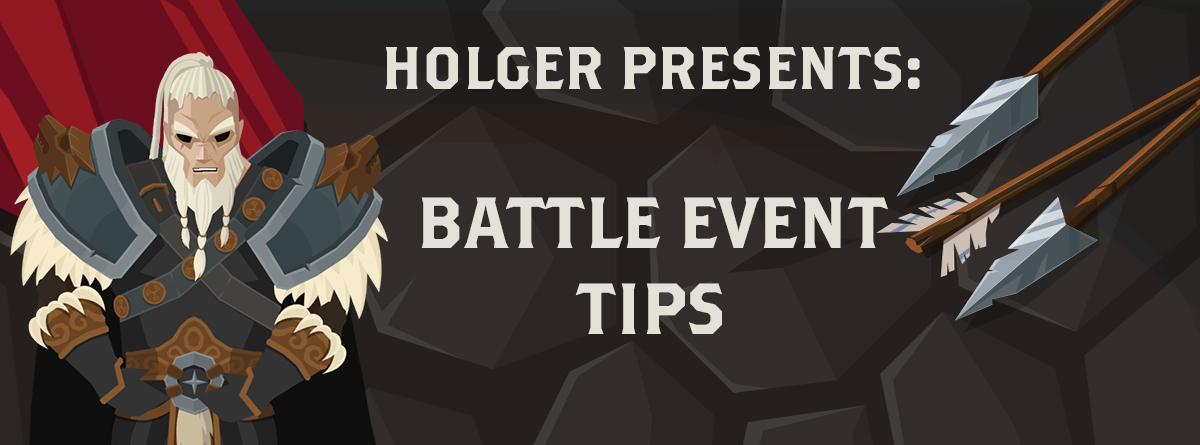 BATTLE EVENT – TIPS