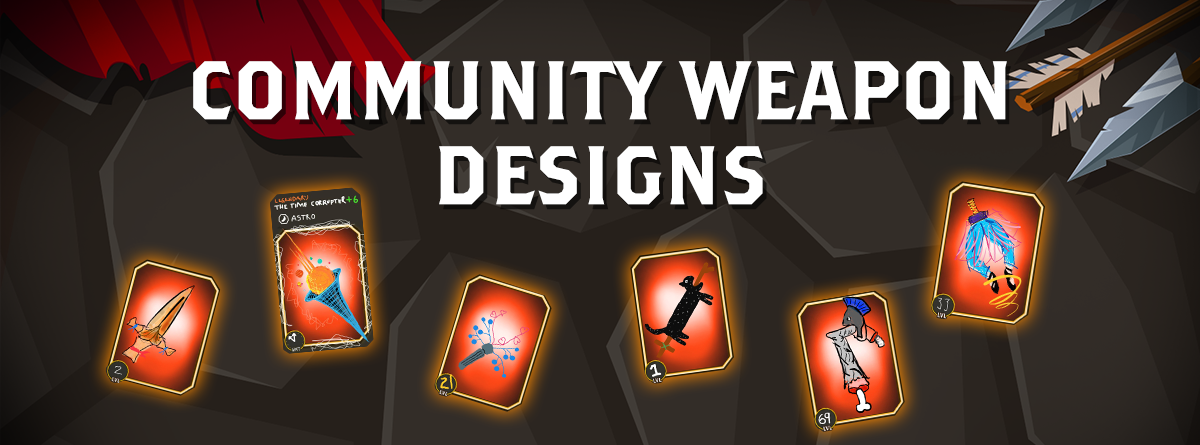 Community weapon designs