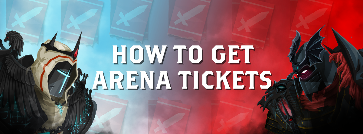 How to get Arena Tickets