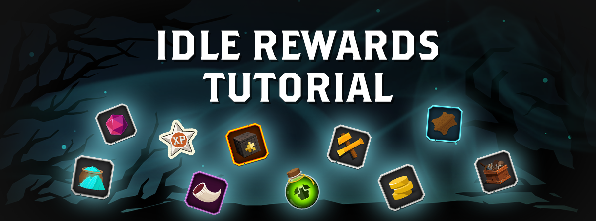 Idle rewards tutorial