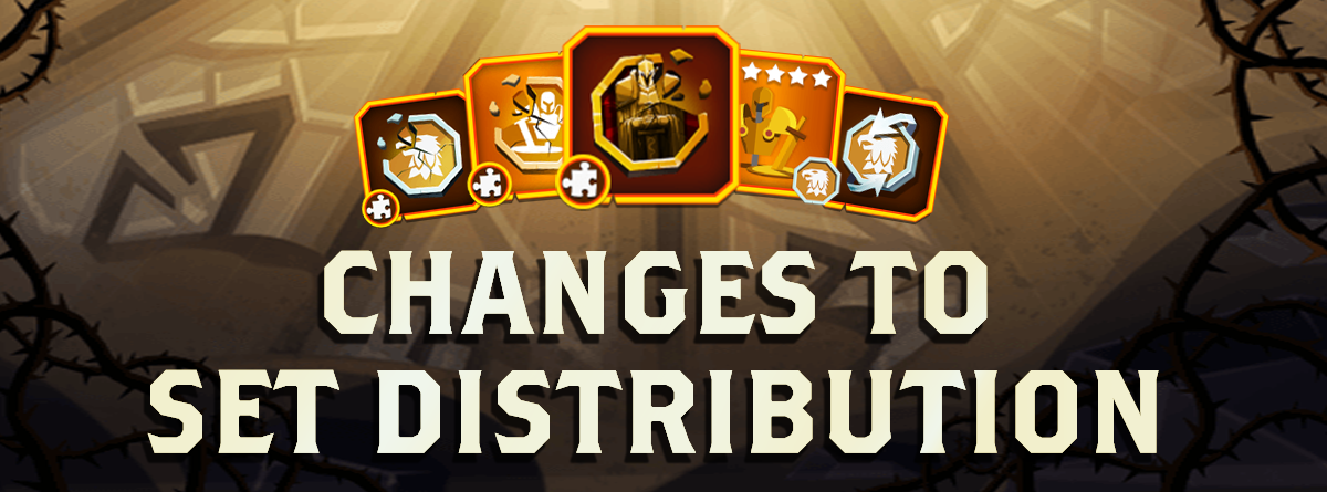 Changes to set distribution