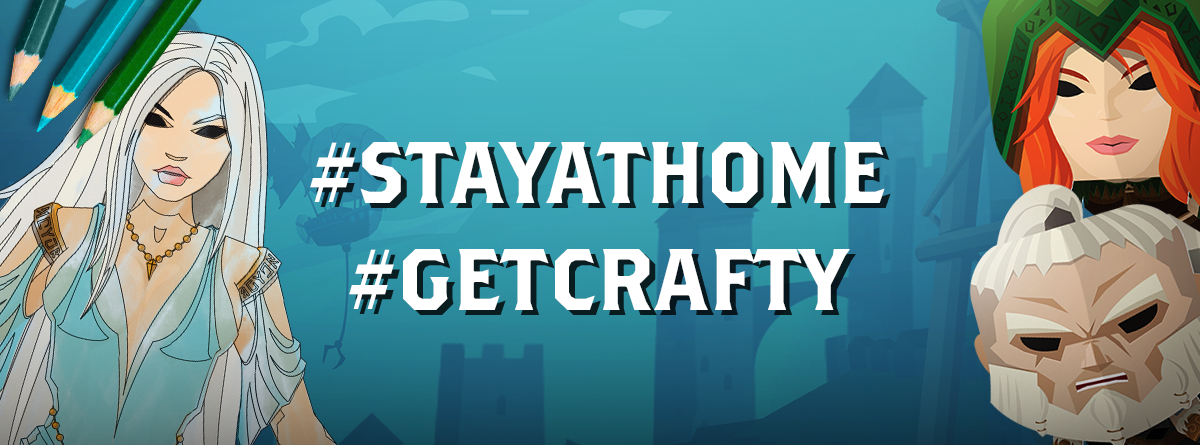 Get Crafty and #stayathome